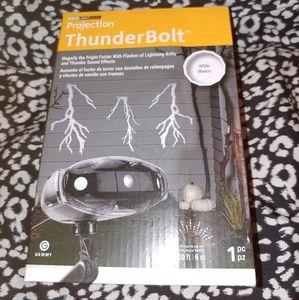 Thunder/lightning projector light